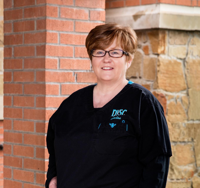 DVSC Plano receptionist, Caroline