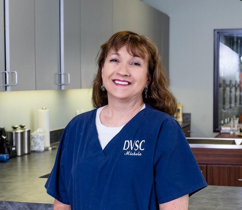DVSC East Dallas receptionist, Michele
