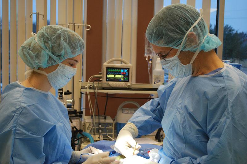 Dr. Lange and Dr. Grilley
